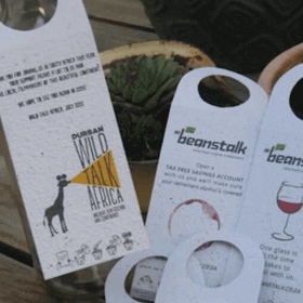 growing paper bottle tags